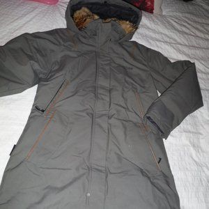 QUARTZ CO. above knee winter jacket